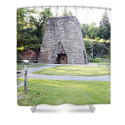 Shower Curtain featuring the photograph Pine Grove Furnace State Park by Tony Cooper