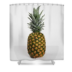 Pineapple Shower Curtain by Photo Researchers, Inc.