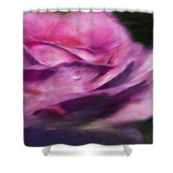 Pink Shower Curtain by Jack Zulli