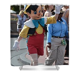 Pinocchio Shower Curtain