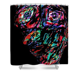 Pinocchio Shower Curtain by Natalie Holland