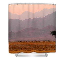 Plain Tree Shower Curtain