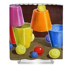 Playground  Shower Curtain by Irina Sztukowski