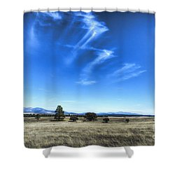 Point Of Pines - San Carlos Indian Reservation Shower Curtain