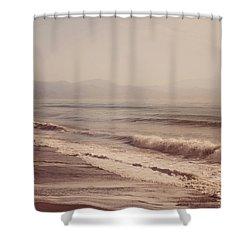 Pointless Nostalgia Shower Curtain by Jenny Rainbow