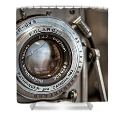 Polaroid Pathfinder Shower Curtain