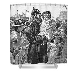 Policeman, 1885 Shower Curtain by Granger