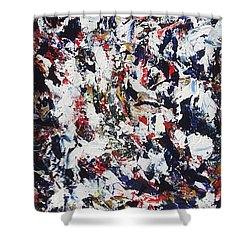 Pollock Shower Curtain
