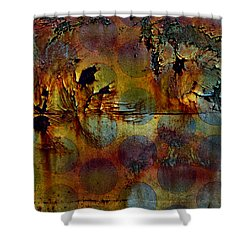 Polluted Circus Shower Curtain by Empty Wall