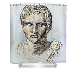 Pompey (106-48 B.c.) Shower Curtain by Granger