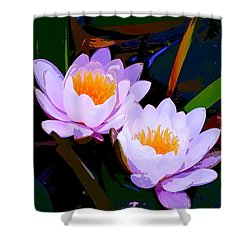 Pond Lily 16 Shower Curtain