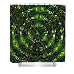 Pond Perfect Shower Curtain by Alec Drake