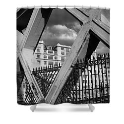 Pont Lafayette Paris Shower Curtain by Andrew Fare