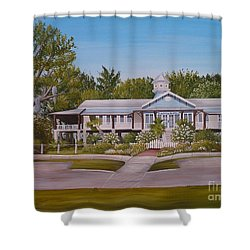 Pontchartrain Yacht Club Shower Curtain