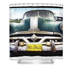 Pontiac  Shower Curtain by Mauro Celotti
