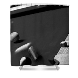 Pool Balls Shower Curtain by Chris Berry