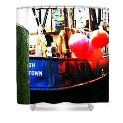 Shower Curtain featuring the photograph Port Of Galilee Number 1 by Lon Casler Bixby