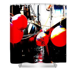 Shower Curtain featuring the photograph Port Of Galilee Number 2 by Lon Casler Bixby