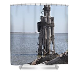 Shower Curtain featuring the photograph Port Of Rochester by William Norton