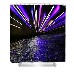 Port Slide Lightz Shower Curtain