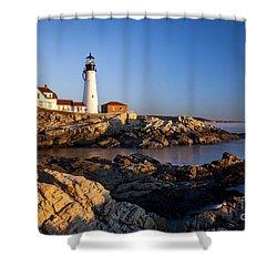 Portland Head Lighthouse Shower Curtain by Brian Jannsen
