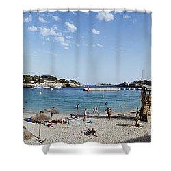 Porto Cristo Beach Shower Curtain