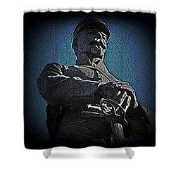Portrait 36 American Civil War Shower Curtain by David Dehner