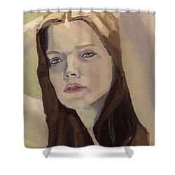 Portrait Of Ashley Shower Curtain
