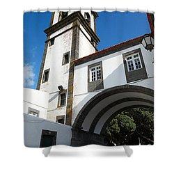 Portuguese Architecture Shower Curtain by Gaspar Avila