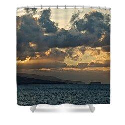 Portuguese Sunrise Shower Curtain by Eric Tressler