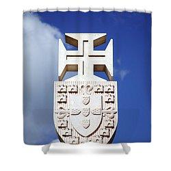 Portuguese Symbology Shower Curtain by Gaspar Avila