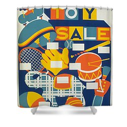 Poster: Toys, C1940 Shower Curtain by Granger