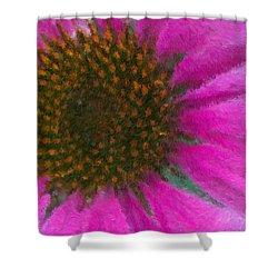 Pow Wow Shower Curtain by Heidi Smith