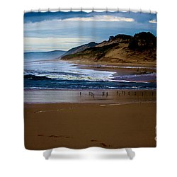 Powlet River Shower Curtain