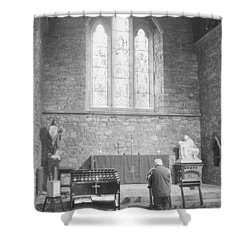 Shower Curtain featuring the photograph Prayer by Hugh Smith