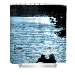 Precious Moments Shower Curtain by Syed Aqueel