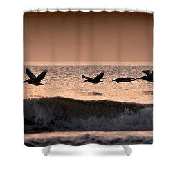 Predawn Formation Shower Curtain