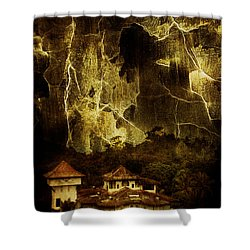Premonitions Shower Curtain by Andrew Paranavitana