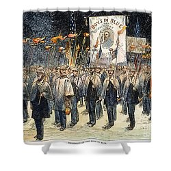 Pres. Campaign, 1876 Shower Curtain by Granger