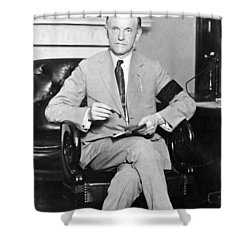 President Calvin Coolidge Shower Curtain