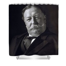 President William Howard Taft Shower Curtain by International  Images