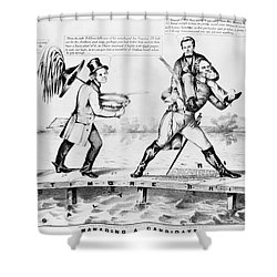 Presidential Campaign, 1852 Shower Curtain by Granger