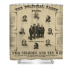 Presidential Election, 1876 Shower Curtain by Granger