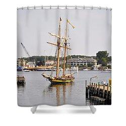 Pride Of Baltimore II Pb2p Shower Curtain
