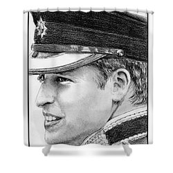 Prince William In 2011 Shower Curtain by J McCombie