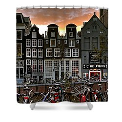 Prinsengracht 458. Amsterdam Shower Curtain