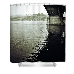 Prison Stream Shower Curtain by The Artist Project