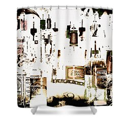 Prohibition  Era Shower Curtain