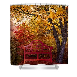 Promises Made Shower Curtain by Debra and Dave Vanderlaan
