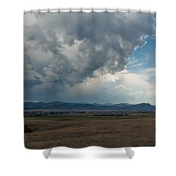 Shower Curtain featuring the photograph Promises Of Rain by Fran Riley